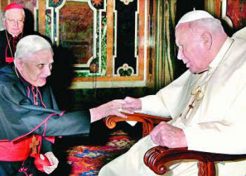 John-paul-ii-and-ratzinger
